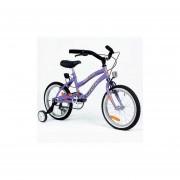 Bicicleta para Nenas Halley 19057 Playera con Rueditas Rod 16