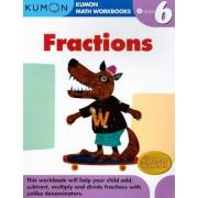 Fractions Grade 6, Paperback