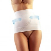 Alakformáló hasleszorító öv, FarmaCell 605, fehér, XXL