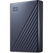 """HDD Extern WD My Passport Ultra 4TB, 2.5"""", USB-C, Albastru"""