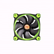 FAN, Thermaltake Riing 120mm, 1500rpm, LED, Green (F038-GR)
