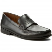 Мокасини CLARKS - Claude Lane 261238627 Black Leather