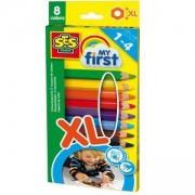 Комплект Цветни моливи, SES, 080827