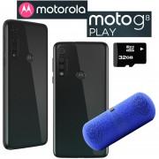 Oferta! 2x1 Celular Motorola Moto G8 Play 32GB - 2Gb Ram Dual Sim Gris
