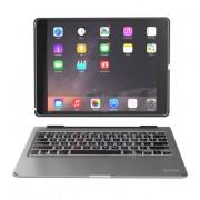 ZAGG Slim Book Keyboard Case - клавиатура, кейс и поставка за iPad Pro 9.7 и таблети с Bluetooth (черен)