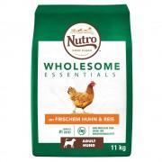 Nutro Wholesome Essentials Adult Dog с пиле и ориз - 2 x 11 кг
