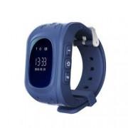 Ceas Smartwatch Pentru Copii Wonlex Q50 cu Functie Telefon Localizare GPS Pedometru SOS - Albastru Bonus Cartela Prepaid Vodafone 10