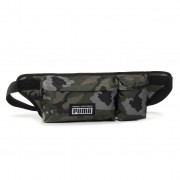 Чанта за кръст PUMA - Academy Multi Waist Bag 077303 04 Forest Night/Camo Aop