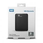 WD Elements 2TB Portable 2,5, USB 3.0 WDBU6Y0020BBK