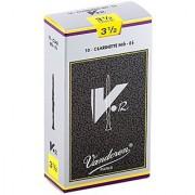Vandoren CR6135 Eb Clarinet V.12 Reeds Strength 3.5; Box of 10