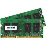 Crucial 8GB PC3-12800 Kit memoria DDR3 1600 MHz