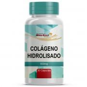 Colágeno Hidrolisado 500 mg - 30 Cápsulas