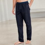 Piqué-Pyjama-Oberteil, -Shorts oder -Hose, 54 - Navy - Hose