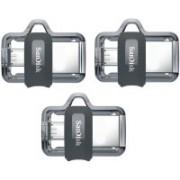 SanDisk ULTRA DUAL DRIVE M3.0 64 GB OTG Drive(Black, Type A to Micro USB)