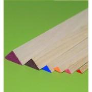 Bagheta triunghiulara balsa 6 x 6 x 915 mm (1 buc)
