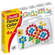 Quercetti 0652 Fantacolor Ongles Transparent 100 Pcs D.20