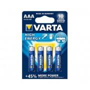 Varta 4903 - 4 buc Baterii alcaline HIGH ENERGY AAA 1,5V