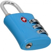 3 Digit Resettable TSA Travel Sentry Approved Own Password Travel Combination Security Padlock - 16