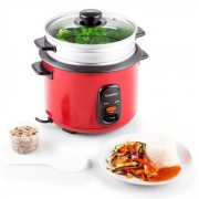 Klarstein Osaka 1.5 Premium Reiskocher mit Dampfgar-Aufsatz 1,5 Liter
