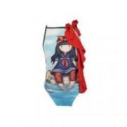 Costum de baie copii Gorjuss - Little Fishes bumbac bleu 6 ani