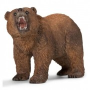 Figurina animal urs grizzly