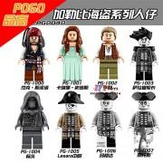 Generic 8pcs Star Wars Super Hero Marvel R2D2 Luke Anakin Skywalker Darth Vader Models Building Blocks Bricks Toys for Children juguetes PG8048