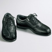 足をいたわる男の靴/ダブルファスナー 菊地の靴 シューズ 【ライトアップショッピングクラブ】