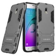 Husa KRASSUS pentru Samsung Galaxy J5 2017 SM-J530 versiune Europa hibrid antishock gri