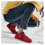 Zapatos Casual Fashion-Cool Para Hombre-Rojo