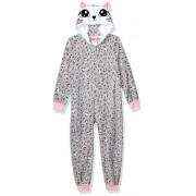 St. Eve Big Character Manta Polar con Capucha para niñas, diseño de Leopardo, Talla XS