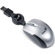 Myš GENIUS Micro Traveler V2, USB silver