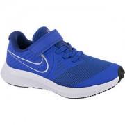 Nike Blauwe Star runner 2 velcrosluiting