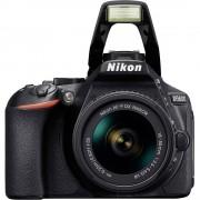 Digitalni zrcalo-refleksni fotoaparat Nikon D5600 Kit uklj. AF-P 18-55 mm VR 24.2 mio. piksela, crne boje WiFi, Full HD video