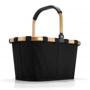 reisenthel - carrybag frame, gold / schwarz