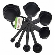 D S Measuring Cup Baking Spoon Set of 8