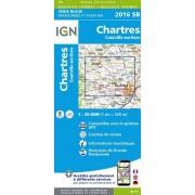 Wandelkaart - Topografische kaart 2016SB Chartres, Courville-sur-Eure | IGN