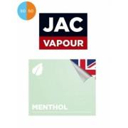 Lichid Tigara Electronica Premium Jac Vapour Menthol 10ml, Fara Nicotina, 50%VG 50%PG, Fabricat in UK