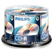 CD-R 700MB-80min ( 50 buc. Spindle, 52x) PHILIPS