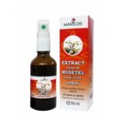 Extract uleios de musetel presat la rece 50ml MANICOS