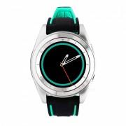 No.1 G6 Bluetooth Smart Watch con monitor de ritmo cardiaco - plata? verde