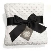 Pearl Velvet ćebence, White Edition