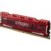 Crucial Ballistix Sport LT 8GB DDR4 2400MHz Roja