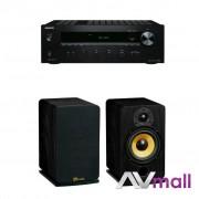 Pachet Amplificator Receiver Onkyo TX-8020 + Boxe Davis Acoustics Eva