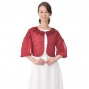 priere 花モチーフファンシーボレロ【QVC】40代・50代レディースファッション