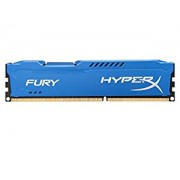 HyperX FURY 8GB 1600MHz DDR3 CL10 DIMM - Sinine - (HX316C10F/8)