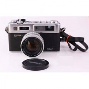 YASHICA Electro 35 camera with accessories
