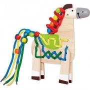 Hape - Early Explorer - Wooden Lacing Pony