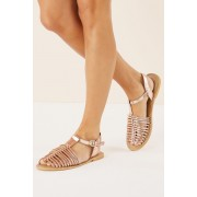 Next Fisherman Sandals - Rose Gold - Womens