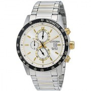 Citizen Chronograph White Dial Mens Watch-AN3604-58A