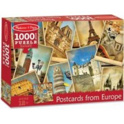 Puzzle Vederi din Europa - Melissa and Doug